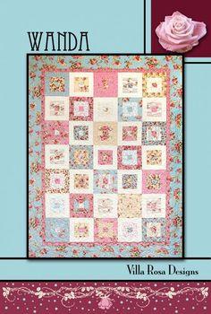 Wanda - Villa Rosa Quilt Cards