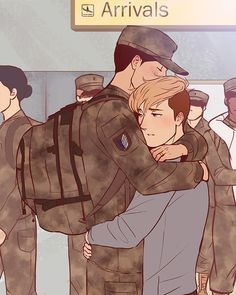 Jean and Marco This would be a really cool AU. These two...so much feels