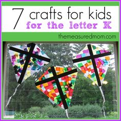 K is for King - use jewels to make crown for letter K.