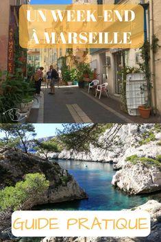 Un week-end idéal dans la somptueuse Marseille ! Ville France, Week End, European Travel, Cannes, Provence, Monaco, City, Destinations, Lifestyle