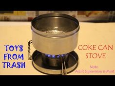 COKE CAN STOVE | English