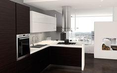 Basic : Slim and Modern Modular Kitchen Design by Florida