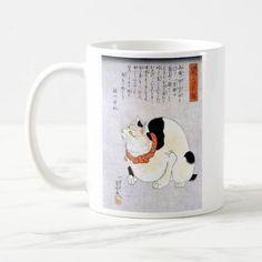 メルカリ商品: 歌川国芳 『 鼠よけの猫 』 のマグカップ 2:フォトマグ(浮世絵シリーズ) #メルカリ