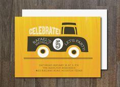 Birthday Invitation. Printables. $6.00