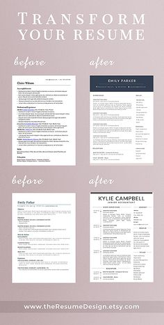 Stand out from the crowd with our professional designs. We are creating modern and easy to customize resumes that help you make a great impression when applying for your dream job.