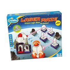 Thinkfun : Laser Maze JR Jeu de laser multilangues - Castello   Jeux et Jouets