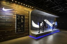 NIKE SSP 16 TIGHTS | Retail Interior at NikeTown London by Millington Associates | 2016 | See more here: http://www.millingtonassociates.com/project/nike-sp16-tights/