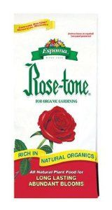 Espoma RT20 20-Pound Rose-Tone Plant Food by Espoma. Save 27 Off!. $21.99. A complete plant food with all 15 essential nutrients. No sludges, hazardous or toxic ingredients. Complex blend of natural organics provide complete and balanced feeding of all 15 nutrients. Environmentally safe. Recommended by professional rosarians for prize winning blooms. Espoma rt20 20-pound rose-tone plant food