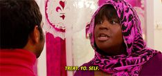 Trending GIF parks and recreation parks and rec retta donna meagle self care treat yo self treat yourself Parks And Recreation, Parks N Rec, Donna Meagle, Girl Struggles, Ways To Eat Healthy, Need A Vacation, Tv Actors, Every Girl, Honeymoons