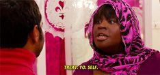 That's right. Treat. Yo. Self. #ParksandRec