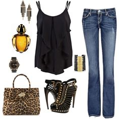 """Out On The Town"" by miche88 on Polyvore"
