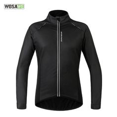 58.32$  Watch now - http://ali9lu.worldwells.pw/go.php?t=32754048009 - WOSAWE Winter Cycling Jackets Warm Windproof Cycling Clothing MTB Bike Wind Jacket Bicycle Jerseys PU Ciclismo Cycling Clothes
