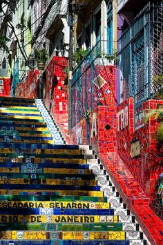 The Santa Teresa district in Rio de Janeiro is a tangle of cobblestone streets and crumbling landmarks perched above the city.