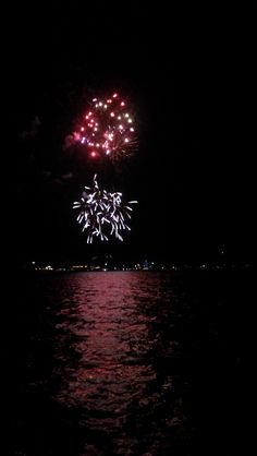 Fireworks at Grand Lake's Annual Constitution Week Celebration