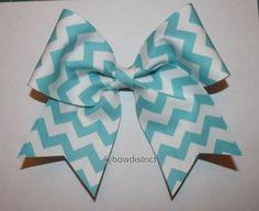 Cute,adorable chevron bow