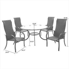 cameron 7 piece patio dining set with lazy susan seats 6 download