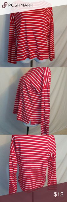 Old navy large striped shirt Measurements Armpit to armpit 25 Length 24in Old Navy Tops Blouses