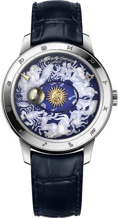 La Cote des Montres : La montre Vacheron Constantin Métiers d'Art Copernic sphères célestes - La révolution copernicienne