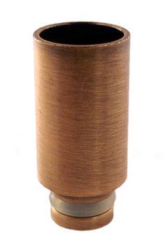 Wide bore Metal Drip Tip - COPPER  #voodoovapeuk #ejuice #vapelife #joyetech #Kanger #cupti #eliquid #ecigs #ecig #vaping