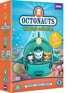 """Octonauts"" Octonauts - The Collection (DVD) at BBC Shop"