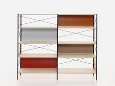 Vitra Eames Storage Unit Bookcase - ESU - Colors by Hella Jongerius