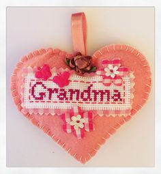 A personal favourite from my Etsy shop https://www.etsy.com/uk/listing/278791092/hanging-felt-pink-heart-keepsake-for