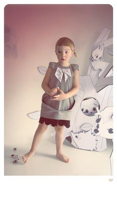 black and white striped MINIMA dress. by BOOkidswear on Etsy, €75.00