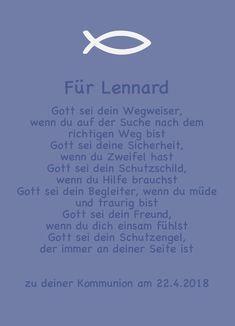 Glückwunschkarte mit Namen zur Kommunion/Konfirmat - Glückwunschkarten - Kommunion - Mit Liebe handgemacht in Mettmann, Deutschland von Kunsthandwerkerholz | Selbstentworfene Glückwunschkarte mit einem passenden Spruch ,individualisiert mit dem Namen des ... |