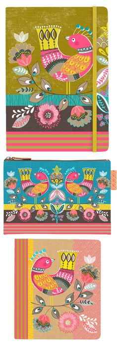 wendy kendall designs – freelance surface pattern designer » paradise birds