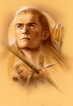 Lord of the Rings Elves | Elven Archer' from 'The Lord of the Rings' by John…