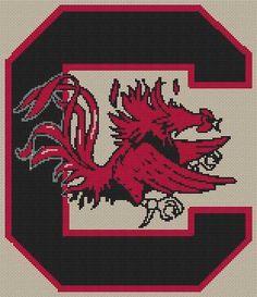 University of South Carolina Gamecocks Complete Cross Stitch Kit