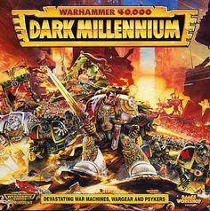 Warhammer 40,000 Dark Millennium - art by Geoff Taylor