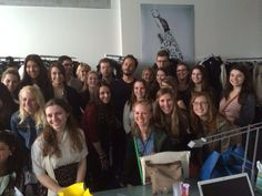 The students received the chance of a lifetime when they were invited to meet fashion designer, Octavio Pizarro.