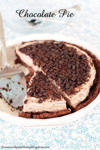 Double Layer Chocolate Pie