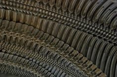 """Ceiling"" by H.R. Giger."