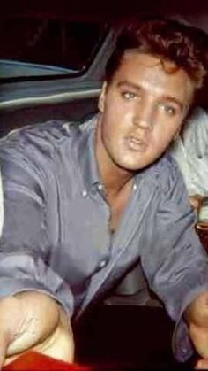 Elvis in color