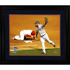 2013 World Series Key Moment 8x10 Framed Photo - The 2013 World Series was one of the most exciting and suspenseful in years.This incredible photo was taken seconds after Koji Uehara picked off Kolten Wong to win Game Four. This out tied the series at 2-2completely turning the momentum of the Series. Celebrate this incredible moment that will be talked about for years to come with this Steiner Exclusive beautifully framed photo.This would be a perfect addition to your man cave or an…