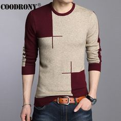 US  19.38 49% OFF COODRONY 2018 Winter New Arrivals Thick Warm Sweaters O  Neck Wool Sweater Men Brand Clothing Knitted Cashmere Pullover Men 66203-in  ... f06799a298
