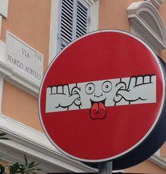 Street art - clet - 15                                                                                                                                                     Mais