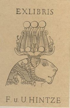 Ancient World Bloggers Group (AWBG): Bookplates of Scholars in Ancient Studies