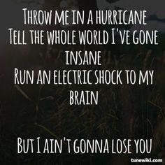 "-- #LyricArt for ""Ain't Gonna Lose You"" by Brett Dennen"