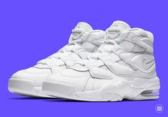 "Updated April 19th, 2017: The Nike Air Max 2 Uptempo '94 ""Triple White"" releases on May 26th, 2017 for $140. Nike's trio of mid-90's basketball Retros seem to be moving in unison as the Air Max 2 Uptempo '94 also … Continue reading →"