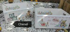Cajas de.bebe personalizadas Chenel
