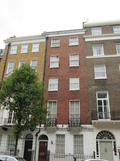 The home of T.Rex singer Marc Bolan in 1971