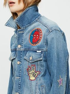 Mother Denim Patches