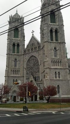 "June 11, 1899 the laying of the cornerstone for the Cathedral of the Sacred Heart, Newark New Jersey, Bishop Bernard McQuaid spoke of Newark's great Cathedral as ""a fitting monument to the faith""."