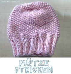 Knitting Patterns Beanie Instructions: knit a warm hat - easy and fast. This knitting pattern for a cuddly . Baby Knitting Patterns, Free Sewing, Knitting Patterns Free, Free Knitting, Crochet Patterns, Knitted Headband, Knitted Hats, Knit Crochet, Crochet Hats