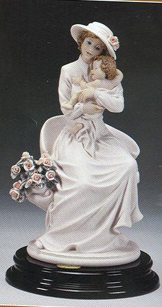 """J105-1590-FGIUSEPPE ARMANI FLORENCE FIGURINE-""""Armani My Little Flower""""-1590F"""