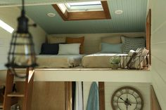 A cozy, rustic tiny home from luxury tiny home builder, Tiny Heirloom