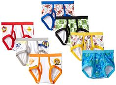 Handcraft Little Boys' Toddler Paw Patrol Brief (Pack of Assorted, - Most Wanted Christmas Toys Popular Toys For Boys, Best Kids Toys, Toys For Girls, Christmas Gifts For Kids, Christmas Toys, Paw Patrol, Toddler Underwear, 4 Year Old Boy, Thing 1